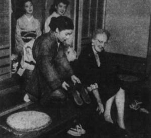 Eva Wilcher, my great-grandmother, in Tokyo, Japan.